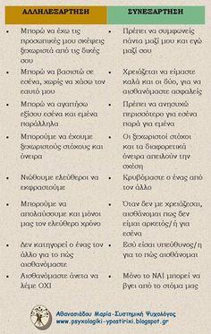 Greek Quotes, Psychology, Relationships, Bullet Journal, Love, Motivation, Psicologia, Amor, El Amor