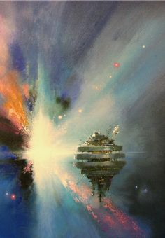 John Harris - Cover for A War of Gifts: An Ender Story by Orson Scott Card, 2007