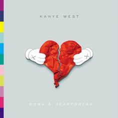 KAWS X Kanye West 808s and Heartbreak Digital Album Cover. Simple.