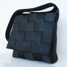 Seatbelt purse. I want one so much! Any size, any color!