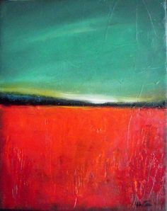 Poppy Field- Original oil painting- abstract landscape painting- palette Inspiration for commemorative Rememberance Day art Abstract Landscape Painting, Abstract Oil, Landscape Art, Landscape Paintings, Painting Art, Creative Landscape, Knife Painting, Painting Frames, Landscape Design