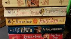 nice Lot of 5 Lorraine Heath Books Historical Romance - For Sale View more at http://shipperscentral.com/wp/product/lot-of-5-lorraine-heath-books-historical-romance-for-sale/