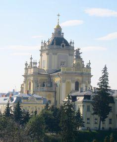 Lviv, Ukraine, St.George's Cathedral (Греко-католицький собор Святого Юра)