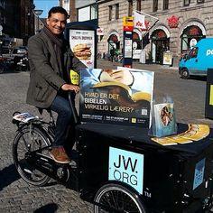 Public witnessing in Copenhagen, Denmark.