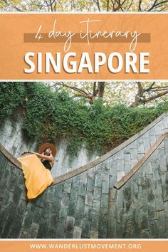 4-days in Singapore is the perfect amount of time to see the country's top attractions. Discover all the best things to do in Singapore and Sentosa Island, where to stay, what to eat and Singapore travel tips you need to know before your trip. Click to read a *detailed* 4-day Singapore itinerary! #singapore #asiatravel #travelguides  via @wanderlustmvmnt