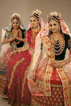 Manipur wedding dress
