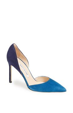 Manolo d'orsay pumps. A girl can dream, right? - S