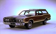1972 Ford LTD Country Squire. Even though the Country Squire sat atop the wagon totem pole, the interior was that of the base LTD. Later in the decade, Country Squires could be had with more luxurious appointments inside.