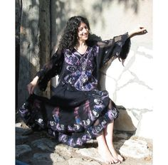 Felt DressFelt TwinSetWoman GiftWool Felt Wrap Skirt by RumiWay, $126.00