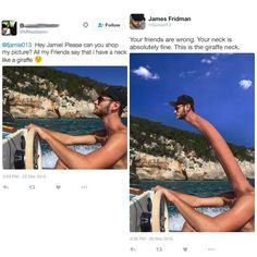 James Fridman is a photoshop guru who sometimes takes requests on social media. These are some of the highlights. Check out his Facebook page for more!