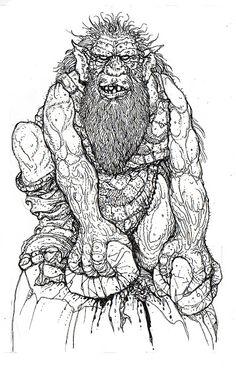Russ Nicholson - fantasy artist and illustrator