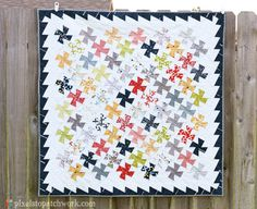 from Pixels to Patchwork: Two Baby Quilt Finishes
