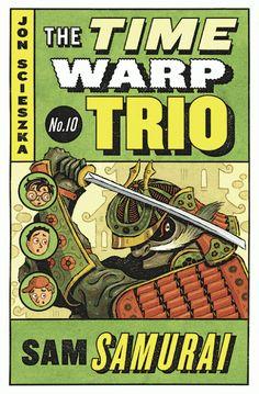 Adam McCauley Illustration | Time Warp Trio Paperbacks #childrensbooks