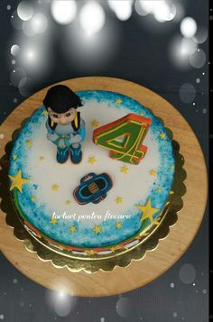 Miles Birthday Cake, Desserts, Food, Birthday Cakes, Meal, Deserts, Essen, Hoods, Dessert