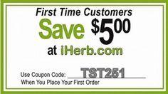 Покупаете на IHERB.COM впервые? Используйте мой код TST251  чтобы получить скидку 5 долларов!
