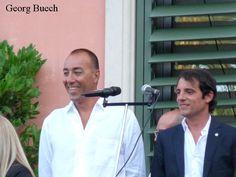 Lorenzo Quinn de pregonero en las fiestas de Castelldefels. Agosto 2014