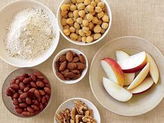 Aim for at least 25 grams of fiber a day from healthy sources such as black beans, chickpeas, vegetables, fruit, oatmeal, whole wheat bread, and brown rice.