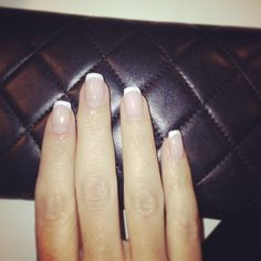 Clean french manicure