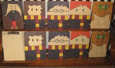 DIY Harry Potter Clipboards for my Harry Potter-themed classroom!