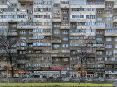 b-a-c-u:  Housing Building, Bd. Iuliu Maniu No 55, Bucharest
