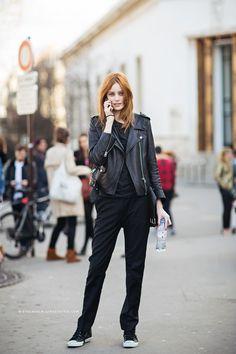 Stockholm StreetStyle | Thairine Garcia #allblackeverything