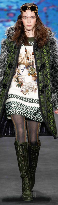 Anna Sui.Fall 2015.