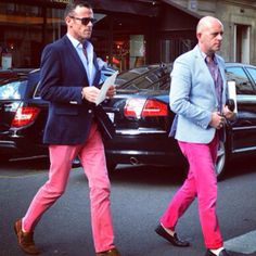Awesome! haha would totally make cody dress like the guy on the right if we were rich...