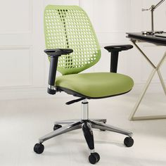 Reverb Premium Mid-Back Office Chair with Arms