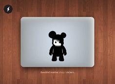 Designer Toyz macbook pro and air stickers by DavidisCreative