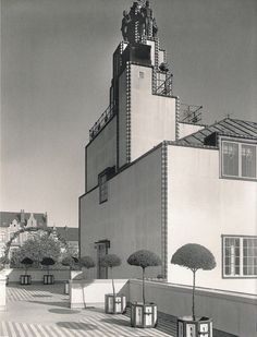 Stoclet Palace, Josef Hoffmann architect, Brussels