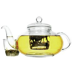 Daisy 1.25-qt. Glass Teapot