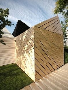 Koda Estonia Pavilion by KUU Architects - News - Frameweb National History, Thing 1, Pavilion, Netherlands, Exterior, Architecture, Building, Outdoor Decor, Pictures
