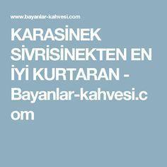 KARASİNEK SİVRİSİNEKTEN EN İYİ KURTARAN - Bayanlar-kahvesi.com