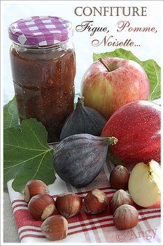 Confiture de figue pommes noisettes
