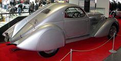 """Lancia Astura 233C Aerodinamica, realizzata nel 1935 dal carrozziere milanese Castagna su autotelaio """"Astura"""" 3ª serie a passo corto."""