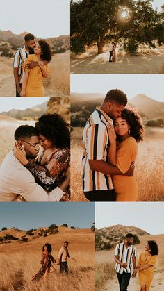This Malibu Creek State Park engagement session features the most stylish couple, dreamiest golden hour, and an incredible view of the Santa Monica Mountains and Malibu Canyon. Captured by Carrie Rogers - a California wedding and elopement photographer. Couple Photoshoot Poses, Couple Photography Poses, Couple Posing, Couple Shoot, Engagement Photography, Engagement Session, Fall Engagement, Country Engagement, Wedding Photoshoot