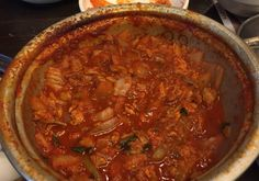 Kimchi Pork Stew - Thick and Juicy - One of the best I have tried!