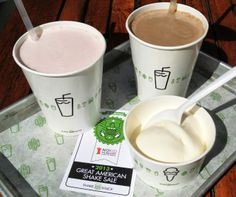 "Shake Shack Great American Shake Sale Pinup in ""10 Best Cause Marketing Promotions of 2013."""
