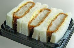 Katsu sandwiches that look like this. | 18 Things Japan Has That The Rest Of The World Desperately Needs