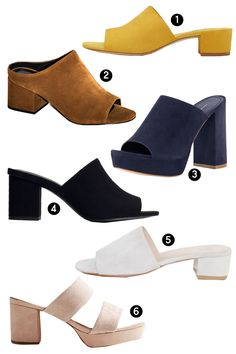 To add to my shopping list for spring Heeled Mules Sandals, Mules Shoes, Shoes Heels Boots, Heeled Boots, Fashion Slippers, Sandals Outfit, Sneaker Heels, Spring Shoes, Sneakers Fashion