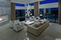 Amplos e Modernos Living Rooms