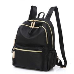 Backpack for women 2019 Casual Oxford Backpack Women Black Waterproof Nylon School Bags for Teenageintothea 2019 Casual Oxford Mochila Mulheres Preto Impermeável Nylon Sacos De Escola f - intothea Backpack Outfit, Tote Backpack, Fashion Backpack, Canvas Backpack, Cute Backpacks For School, Big Backpacks, Backpacks For College, Backpack For Teens, Small Backpack