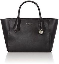Fiorelli Black Designer Style Mani Shoulder Tote Handbag. FH8036