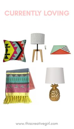Currently Loving / Tribal style decor
