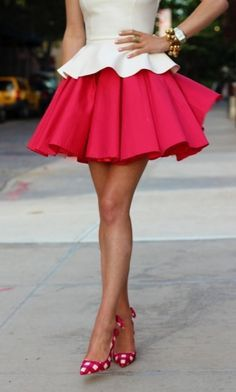 puffy skater skirt - Google Search