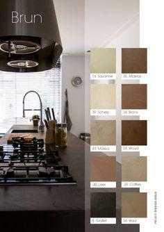 Via eStudio Amsterdam   Stuc producten Happy House, Toilet, New Homes, Furniture, Color, Home Decor, Beige, Ideas, Concrete Bathroom