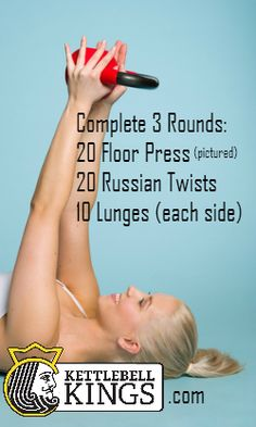 kettlebell workout, kettlebell circuit, kettlebell exercise.  Click on kettlebell workouts and gets lots of workout options.