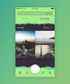 50 Innovative Material Design UI Concepts with Amazing User Experience - 15