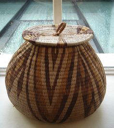 Exhibition of baskets from Botswana at the Rebecca Hossack Art Gallery, London