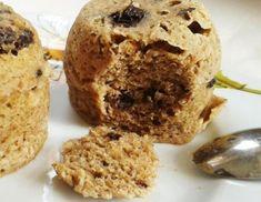 Fitness muffinky z mikrovlnky - bez múky! Sweet Recipes, Low Carb, Gluten Free, Baking, Healthy, Breakfast, Fitness, Food, Glutenfree
